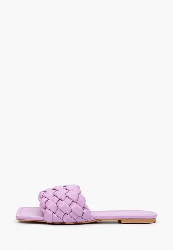 женское сабо stephan, фиолетовое