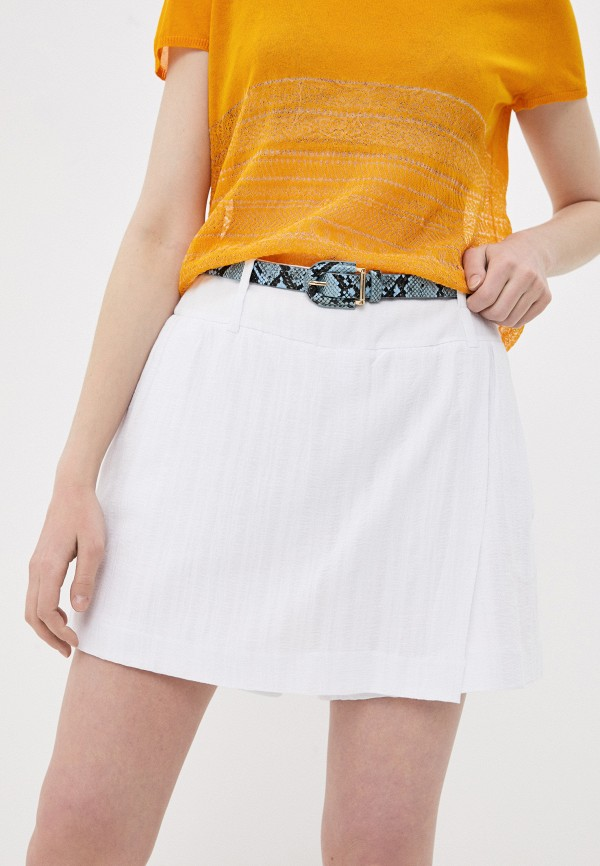 женская юбка stefanel, белая