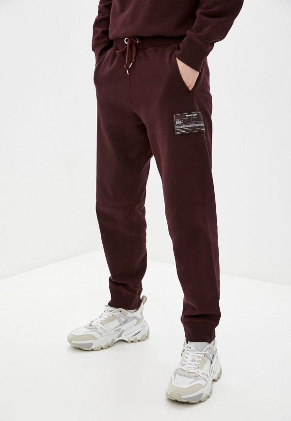 мужские спортивные брюки helmut lang, бордовые