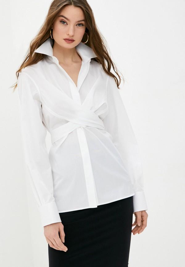 женская блузка helmut lang, белая