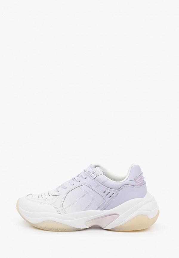 женские кроссовки tamaris fashletics, фиолетовые