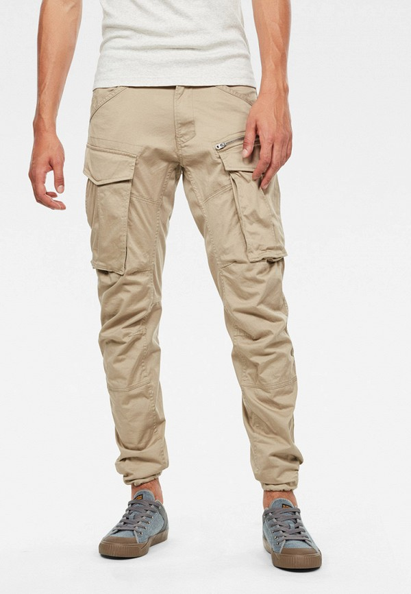 мужские брюки g-star raw, бежевые