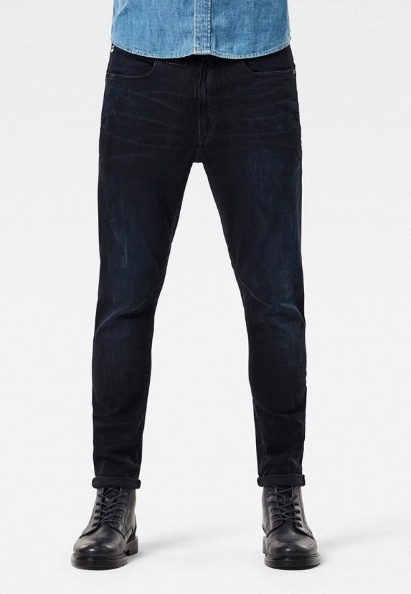 мужские зауженные джинсы g-star raw, черные