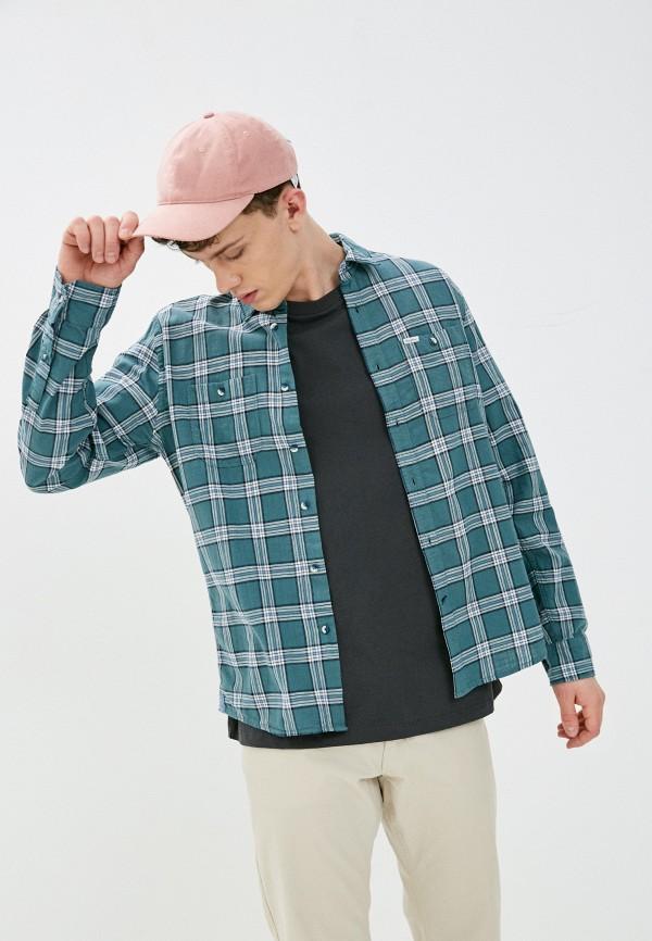 мужская рубашка pepe jeans london, зеленая