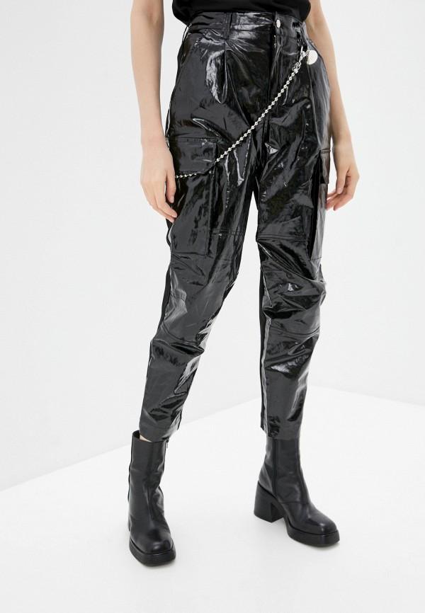 женские брюки diesel, черные