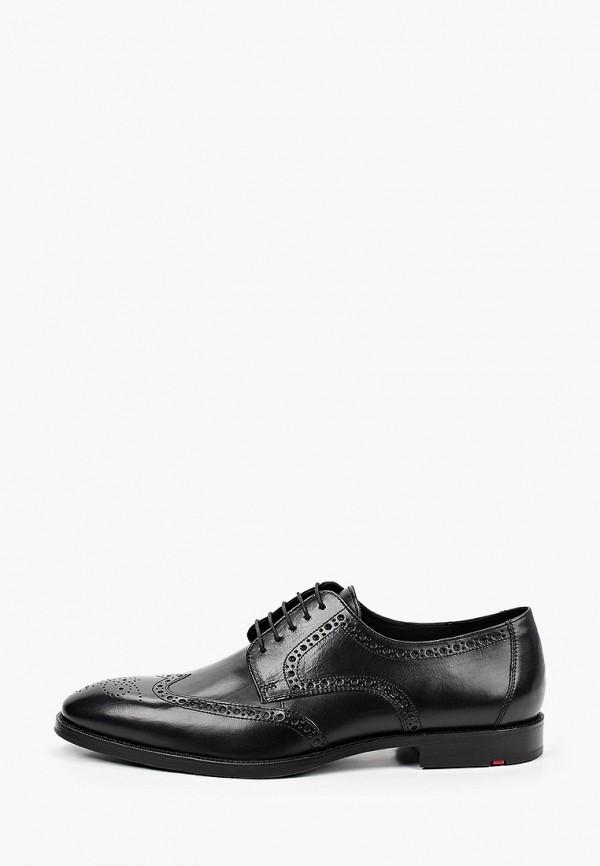 мужские туфли-дерби lloyd, черные