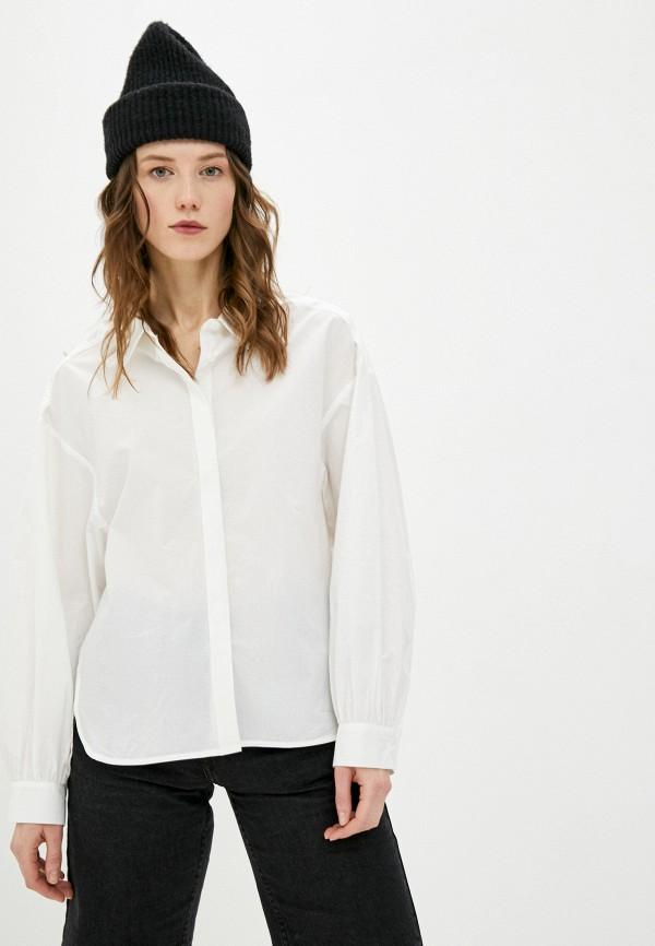 женская рубашка с длинным рукавом bimba y lola, белая