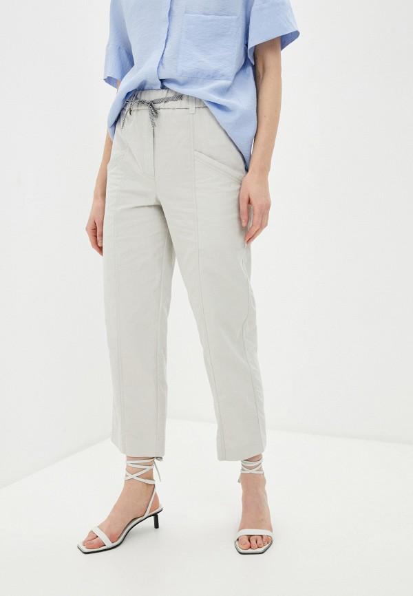женские повседневные брюки bimba y lola, бежевые