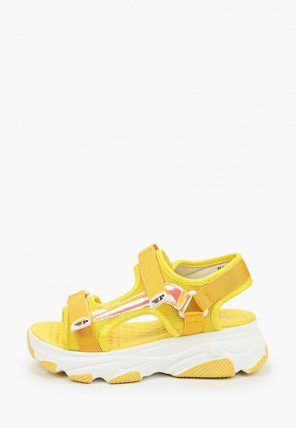 женские сандалии patrol, желтые