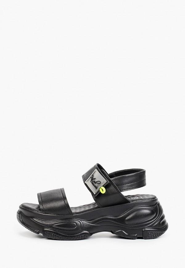 женские сандалии patrol, черные