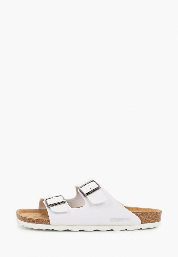 мужские сандалии geographical norway, белые