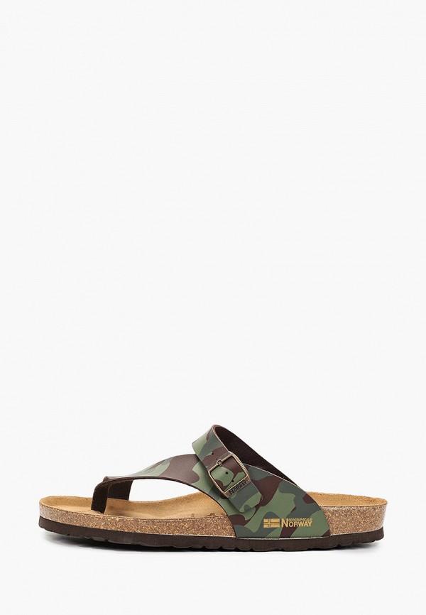 мужские сандалии geographical norway, хаки