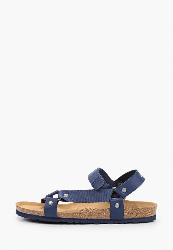 мужские сандалии geographical norway, синие