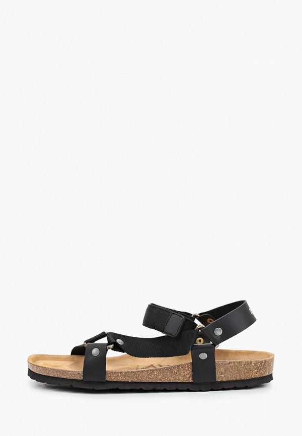 мужские сандалии geographical norway, черные