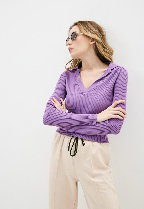 женский пуловер pimkie, фиолетовый