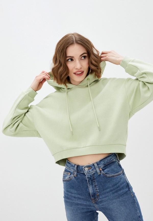 женские худи pimkie, зеленые