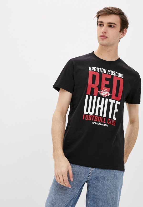 мужская спортивные футболка atributika & club, черная