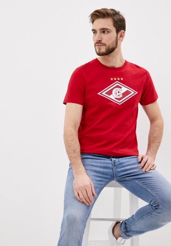мужская спортивные футболка atributika & club, красная