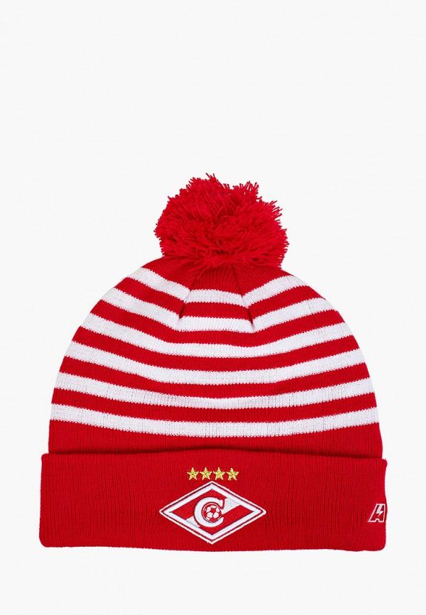 женская шапка atributika & club, красная