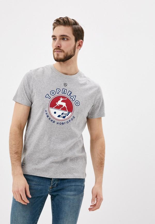 мужская спортивные футболка atributika & club, серая