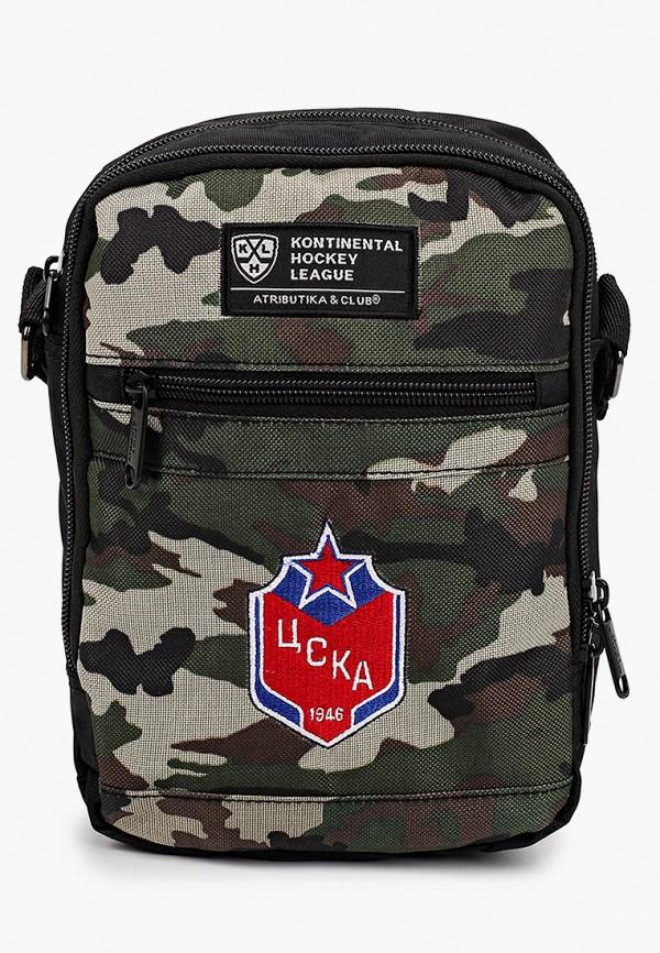 женская сумка через плечо atributika & club, хаки