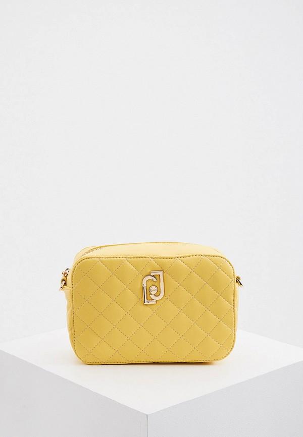 женская сумка liu jo, желтая