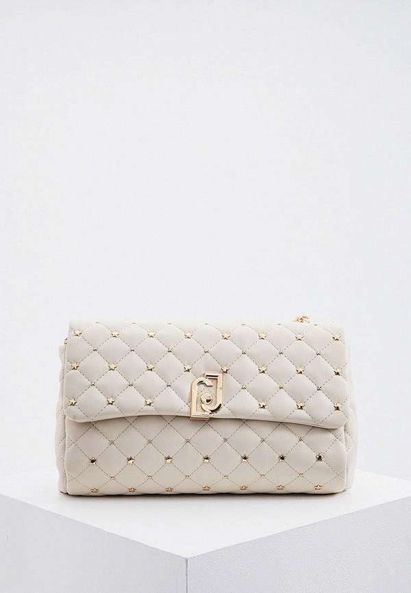 женская сумка liu jo, бежевая