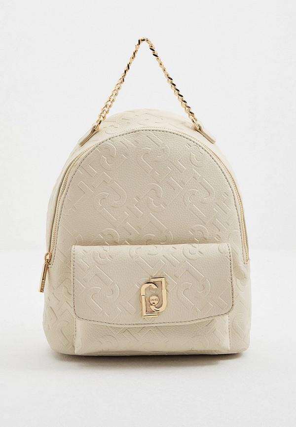 женский рюкзак liu jo, бежевый