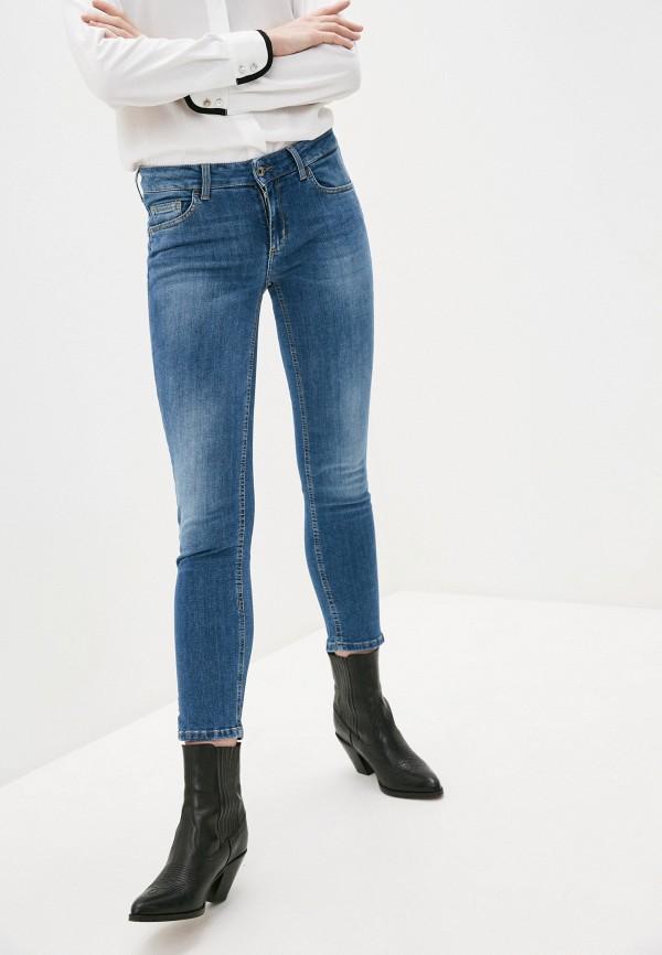 женские джинсы скинни liu jo, синие