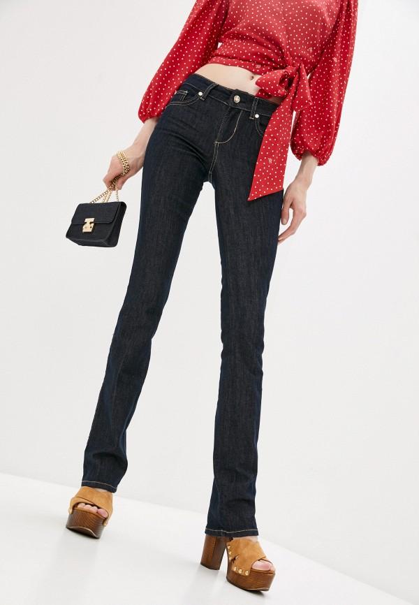 женские прямые джинсы liu jo, синие
