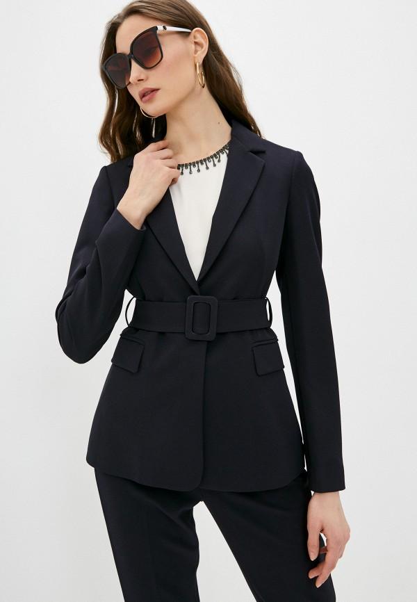 женский пиджак liu jo, синий