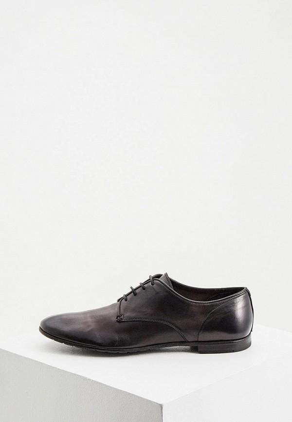 мужские туфли premiata, черные