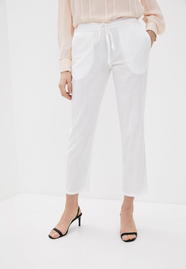 женские брюки elsi, белые