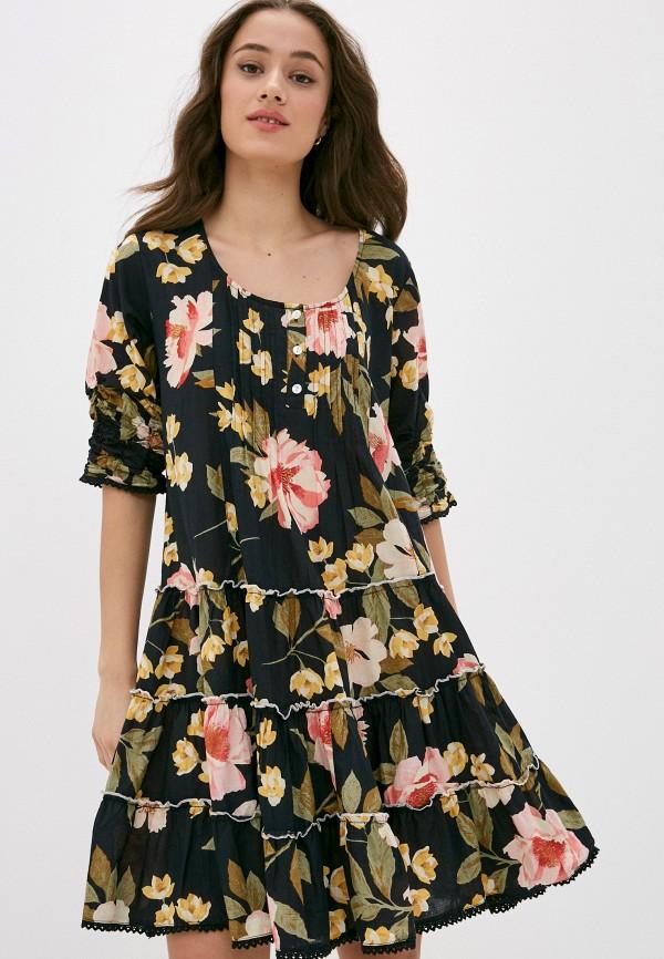 женское повседневные платье elsi, разноцветное
