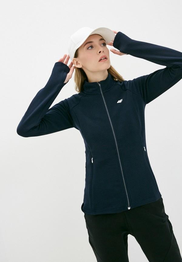 женская олимпийка 4f, синяя