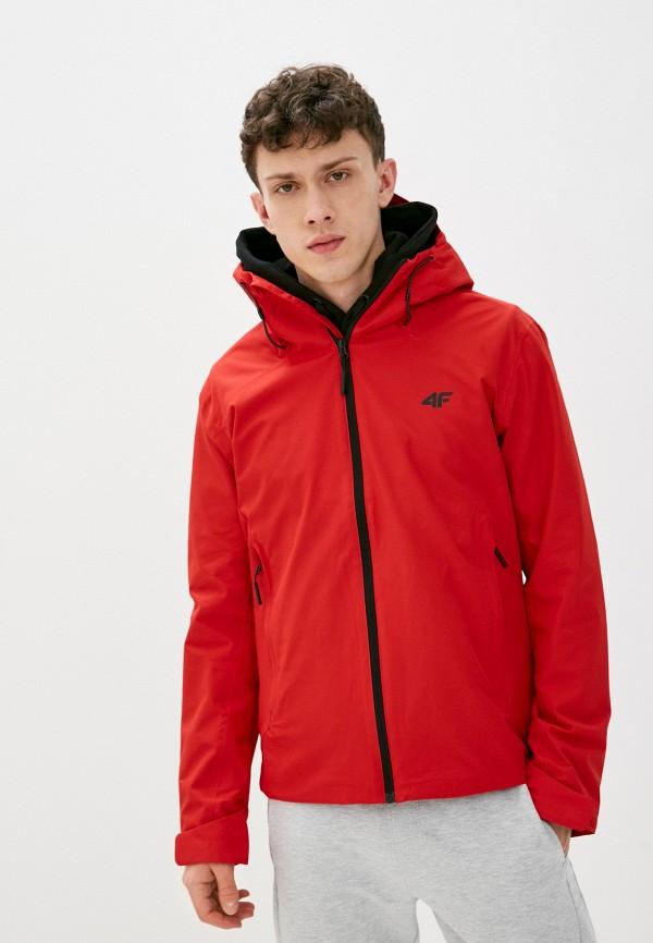 мужская куртка 4f, красная