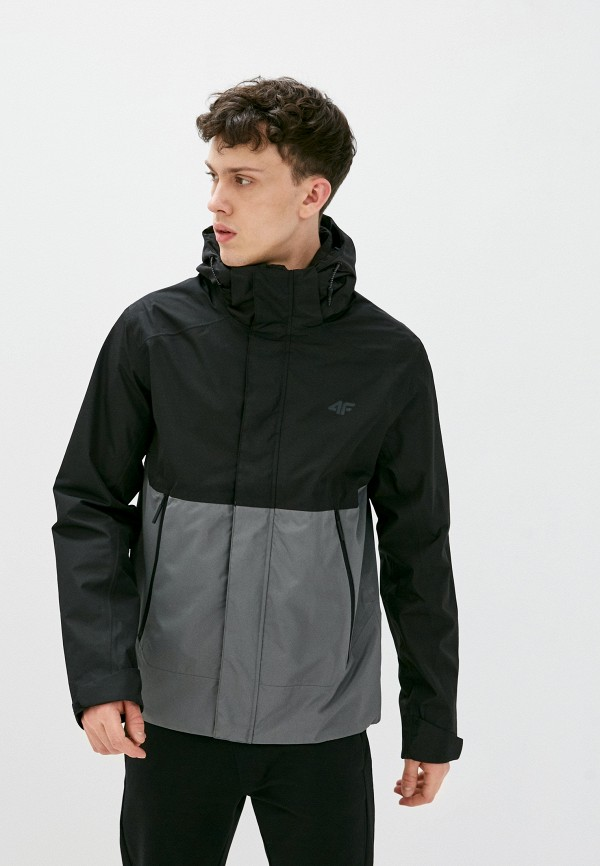 мужская куртка 4f, черная