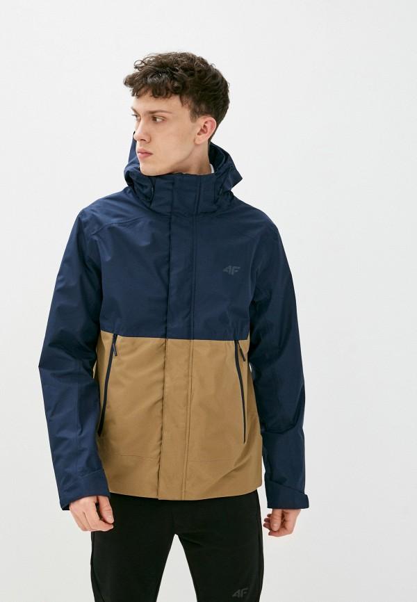 мужская куртка 4f, синяя