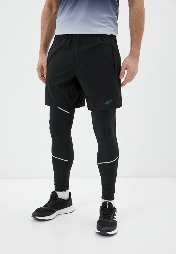 мужские спортивные шорты 4f, черные