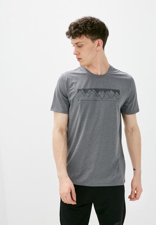 мужская спортивные футболка 4f, серая