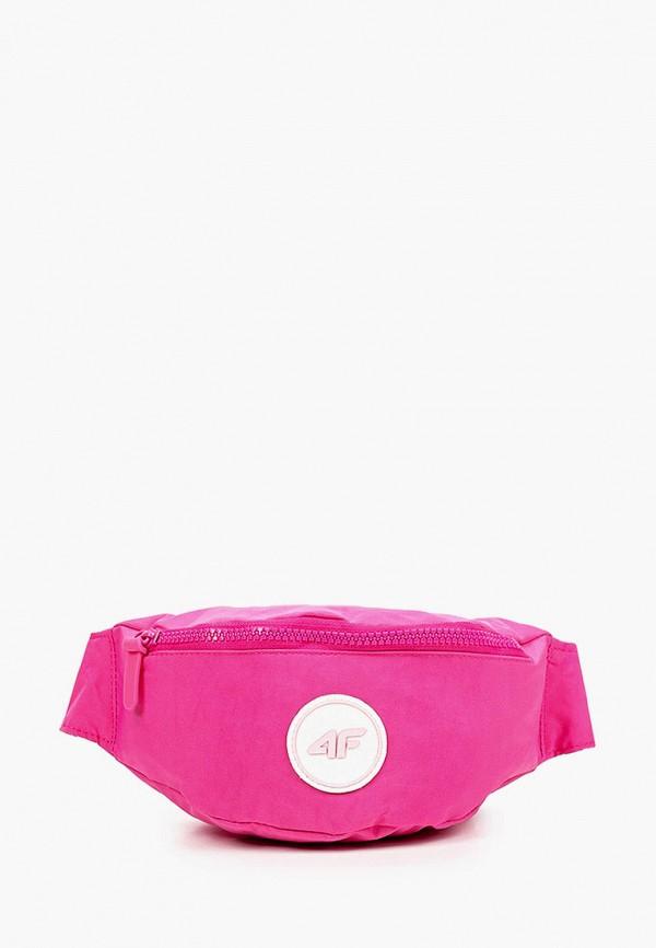 сумка 4f для девочки, розовая