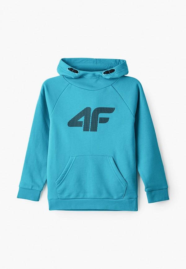 худи 4f для мальчика, голубые