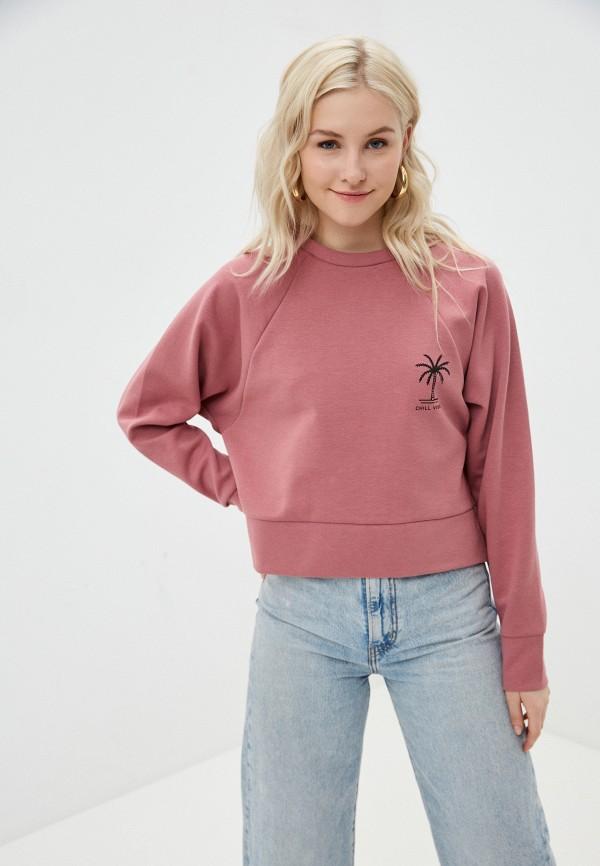 женский свитшот outhorn, розовый