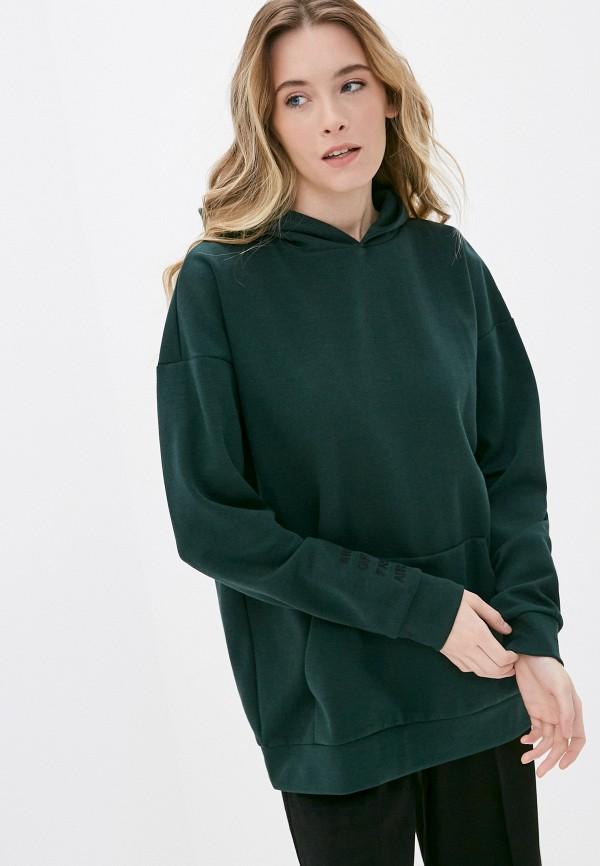 женские худи outhorn, зеленые
