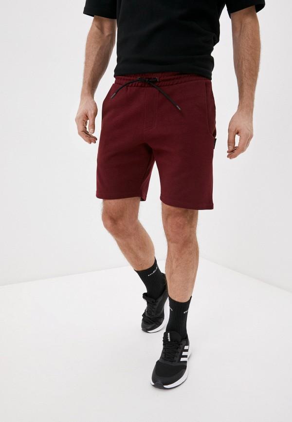 мужские спортивные шорты outhorn, бордовые