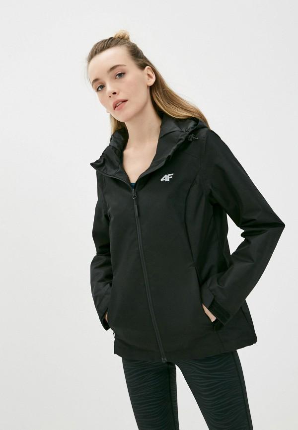 женская куртка 4f, черная