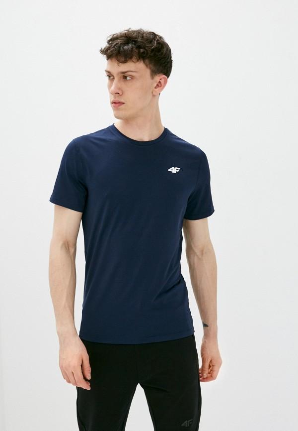 мужская спортивные футболка 4f, синяя