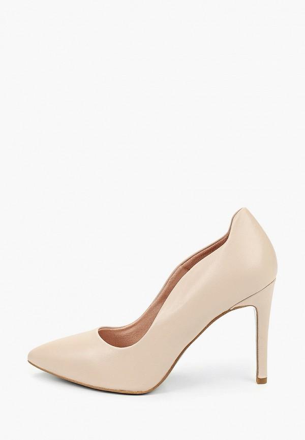 женские туфли tamaris heart & sole, бежевые