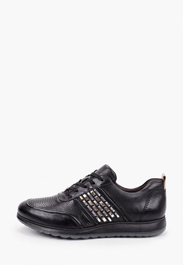 женские кроссовки tamaris pure relax, черные