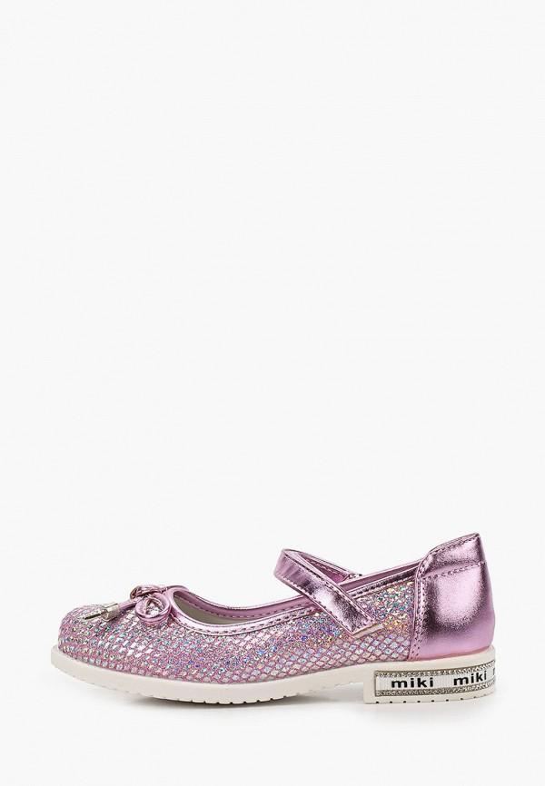 туфли tom-miki для девочки, розовые